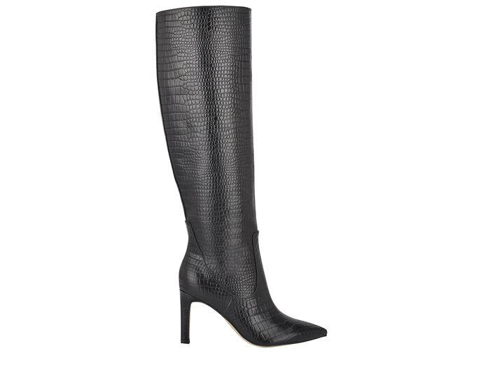 Women's Nine West Maxim Stiletto Knee High Boots