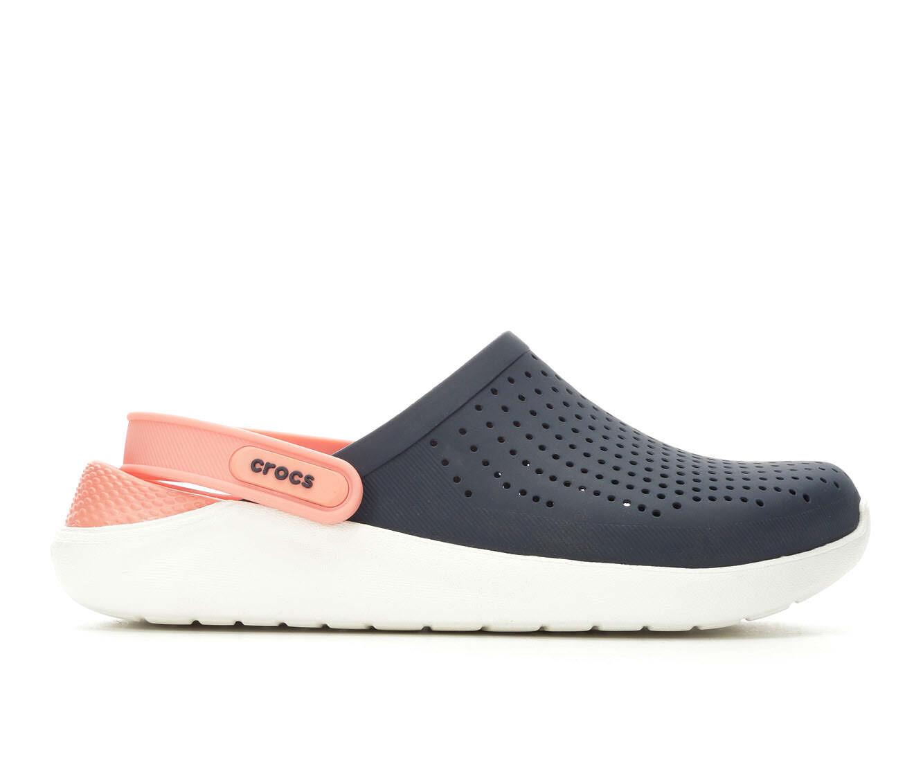 Women's Crocs LiteRide Clog Navy/Melon
