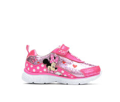 Girls' Disney Toddler & Little Kid Minnie Mouse Light-Up Sneakers