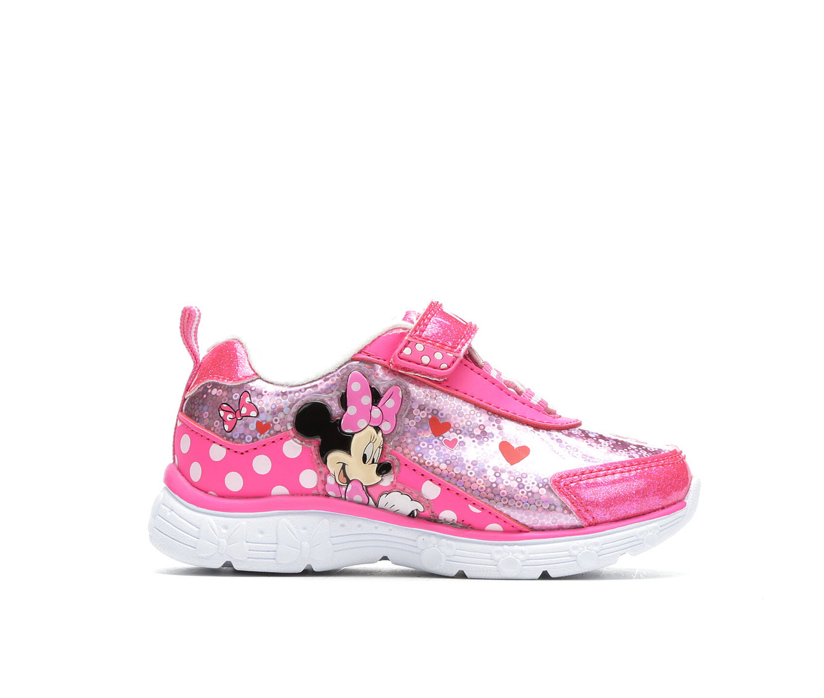 08fb749ead9 Girls' Disney Toddler & Little Kid Minnie Mouse Light-Up Sneakers