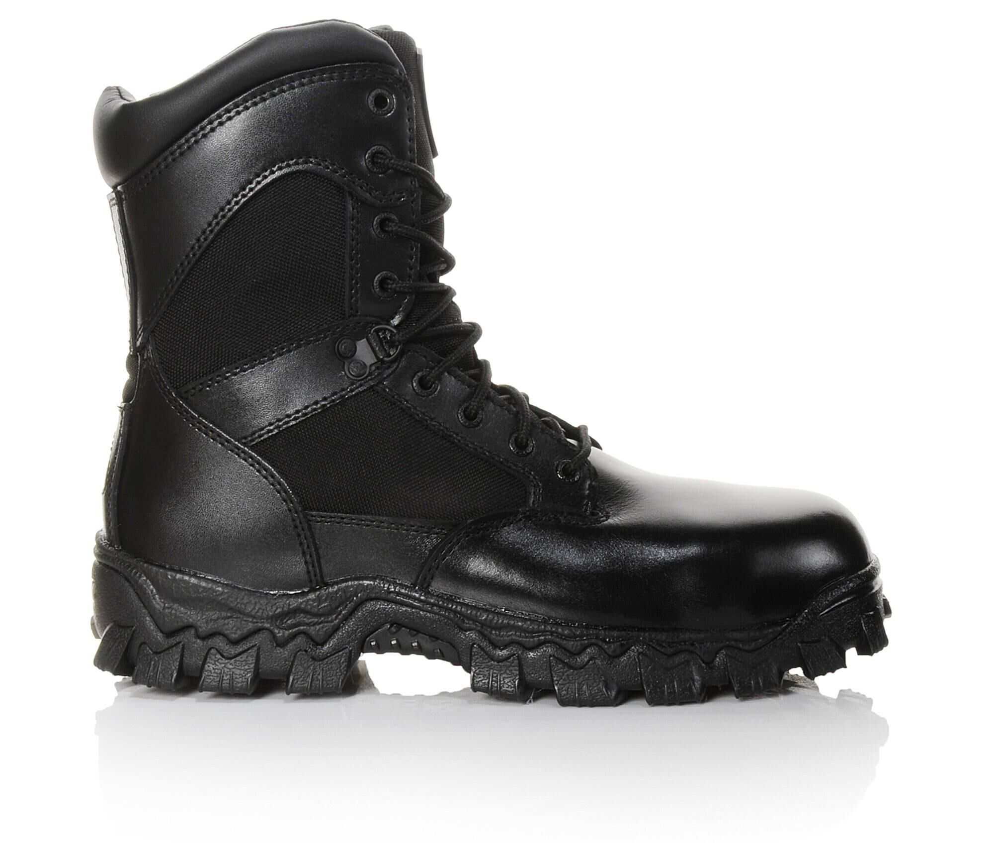 Quantity Assured Men's Rocky 6173 Alpha Force Insulated Boots Black