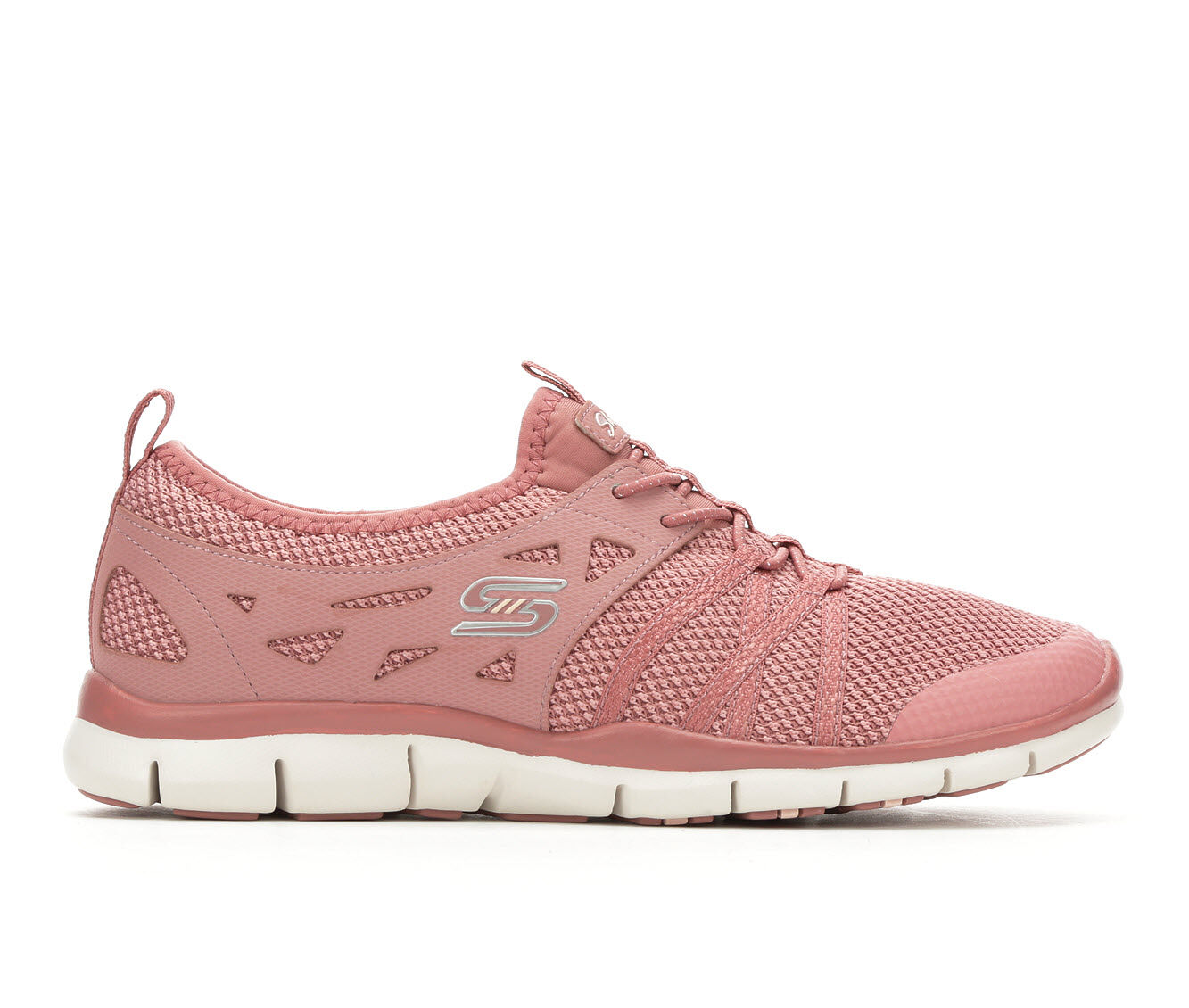 Women's Skechers What A Sight 23360 Slip-On Sneakers Rose