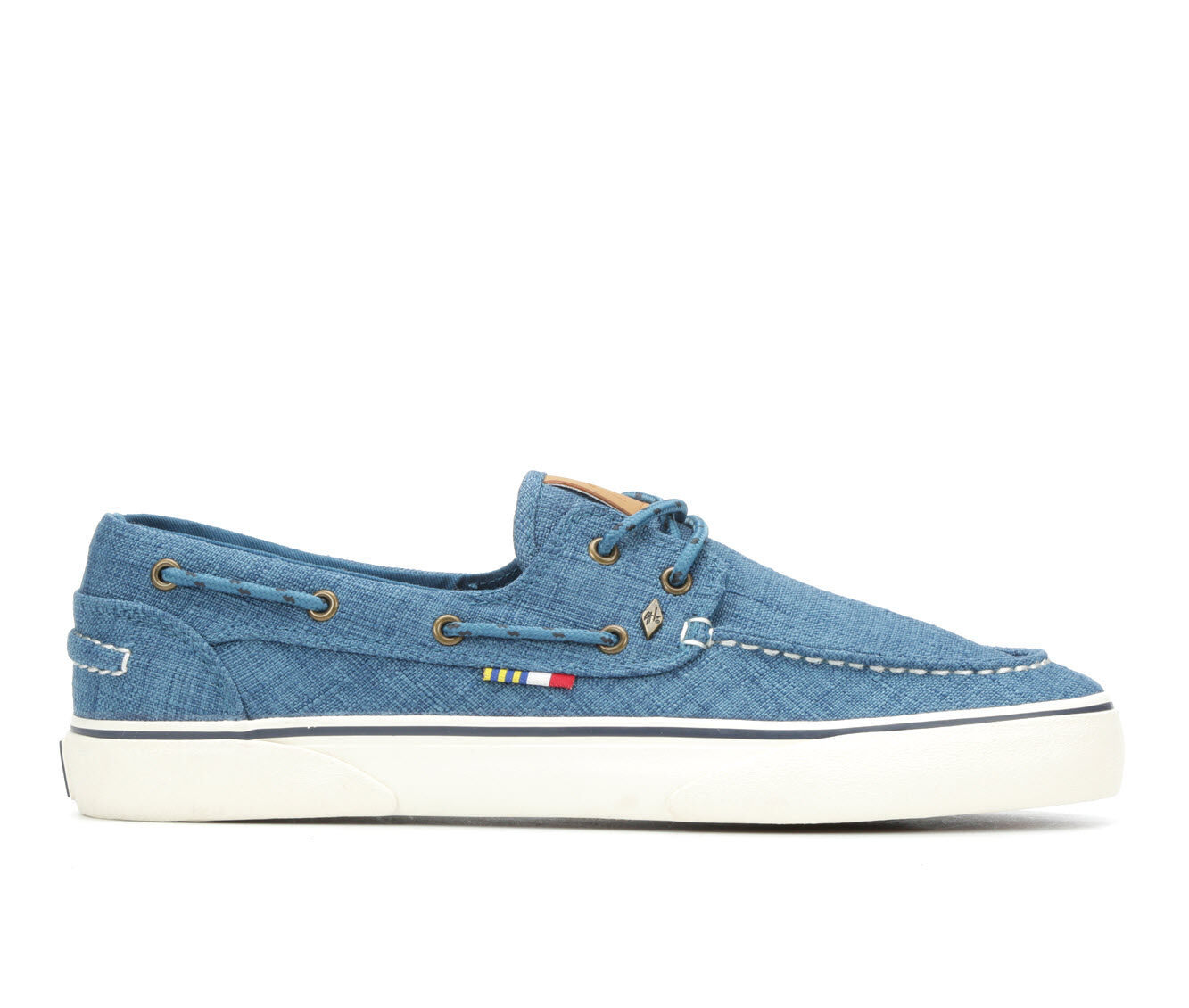 new arrivals Men's Guy Harvey Gulf Linen Casual Shoes Blue/Navy