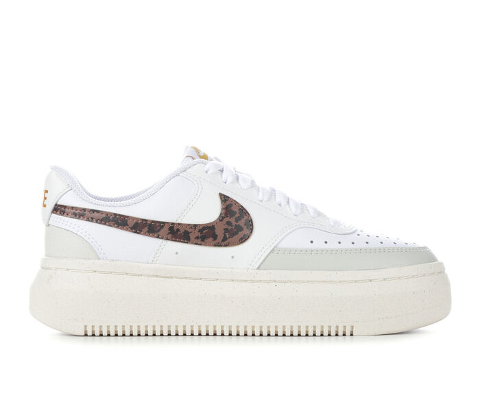 Women's Nike Court Vision Alta Leather Platform Sneakers