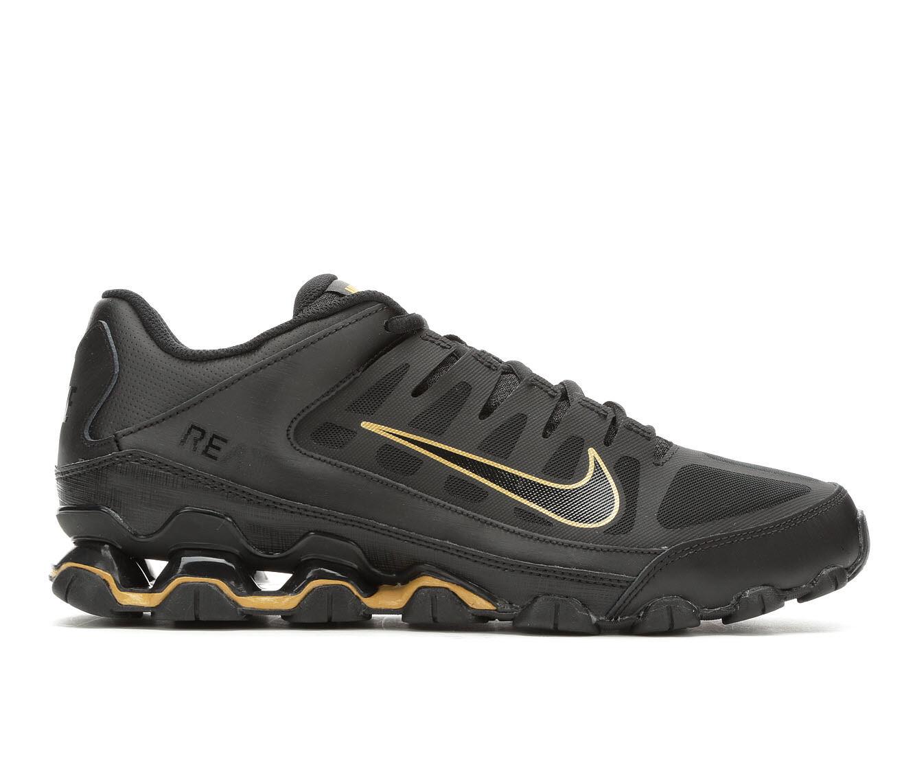 Cost Charm Men's Nike Reax 8 TR Mesh Training Shoes Blk/Gld 020
