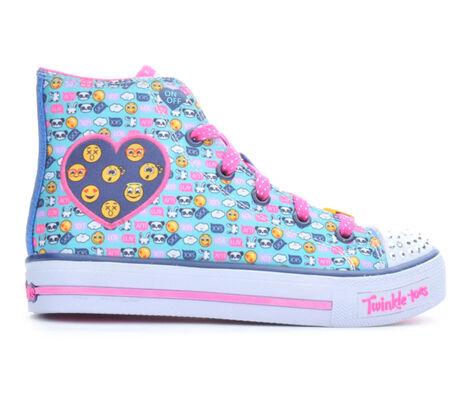 Girls' Skechers Shuffles Giggle Up 10.5-4 Light-Up Sneakers