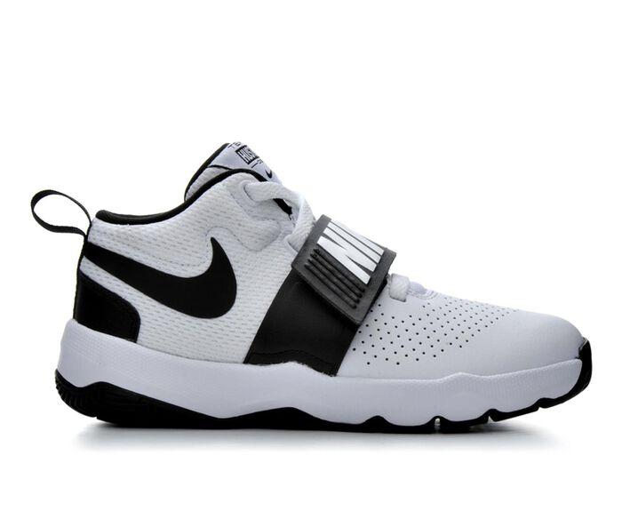Boys' Nike Big Kid Team Hustle D8 High Top Basketball Shoes