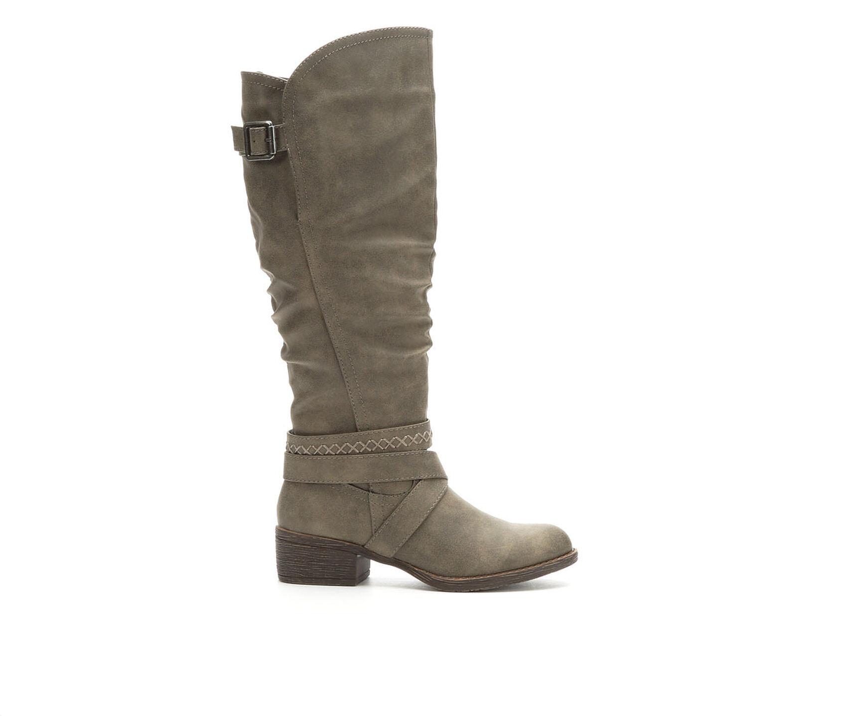 Women S Rage Darling Wide Calf Riding Boots Shoe Carnival