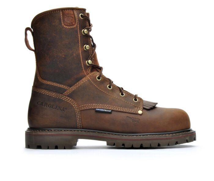 Men's Carolina Boots CA8528 8 In Composite Toe Waterproof Work Boots