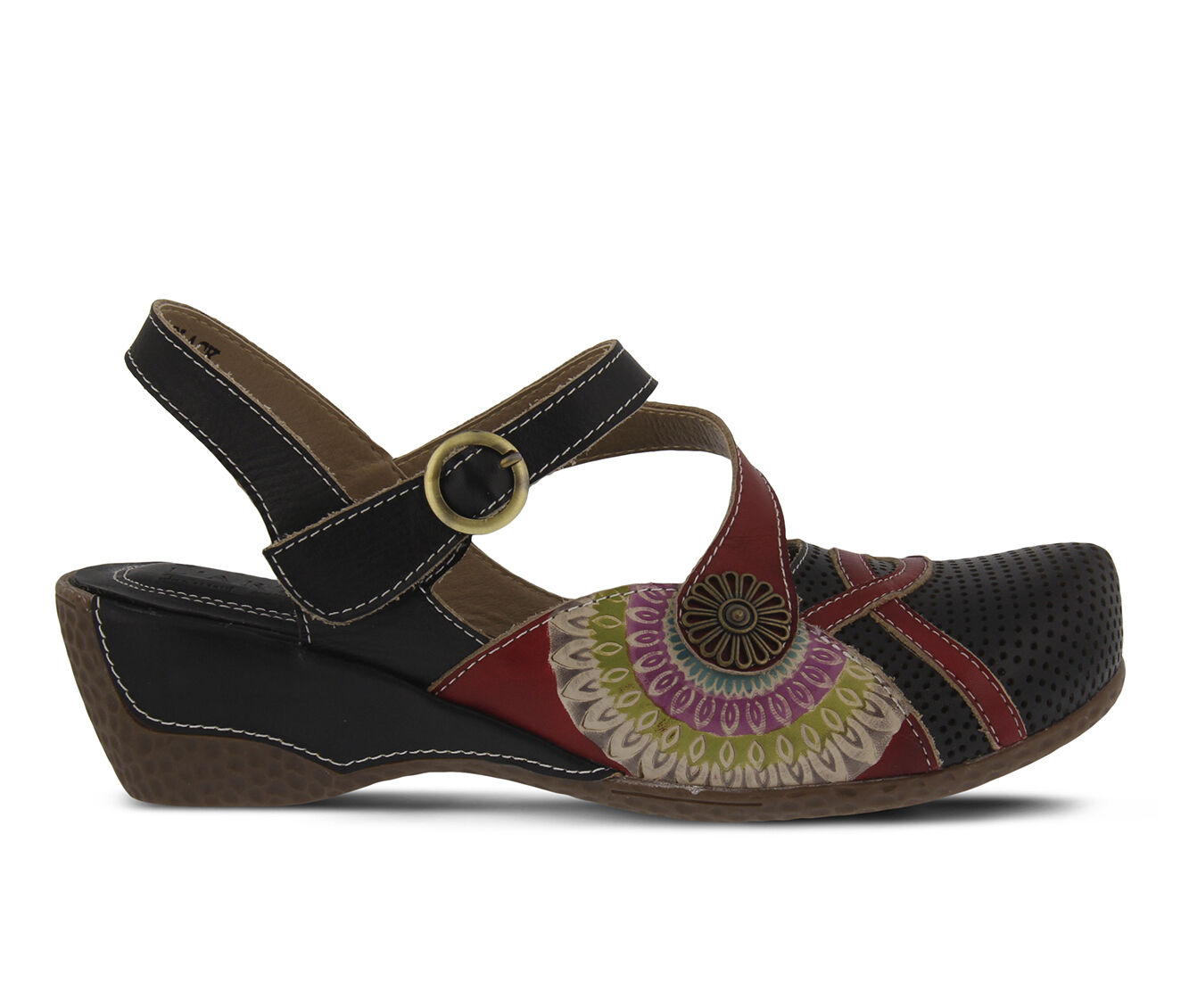 choose comfortable Women's L'ARTISTE Parkway Black Multi