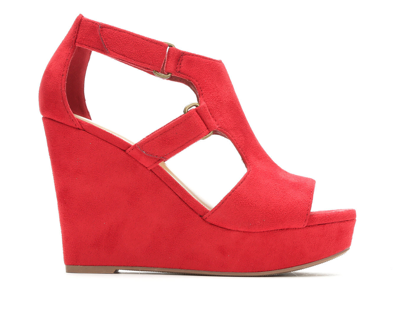 hottest Women's Y-Not Hiking Wedges Lipstick