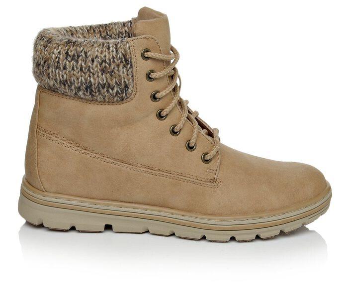 Women's Cliffs Kudrow Sweater Cuff Combat Boots