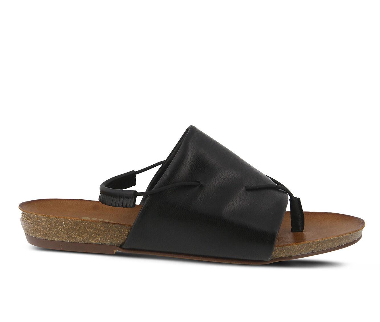 Women's SPRING STEP Madagascar Sandals Black
