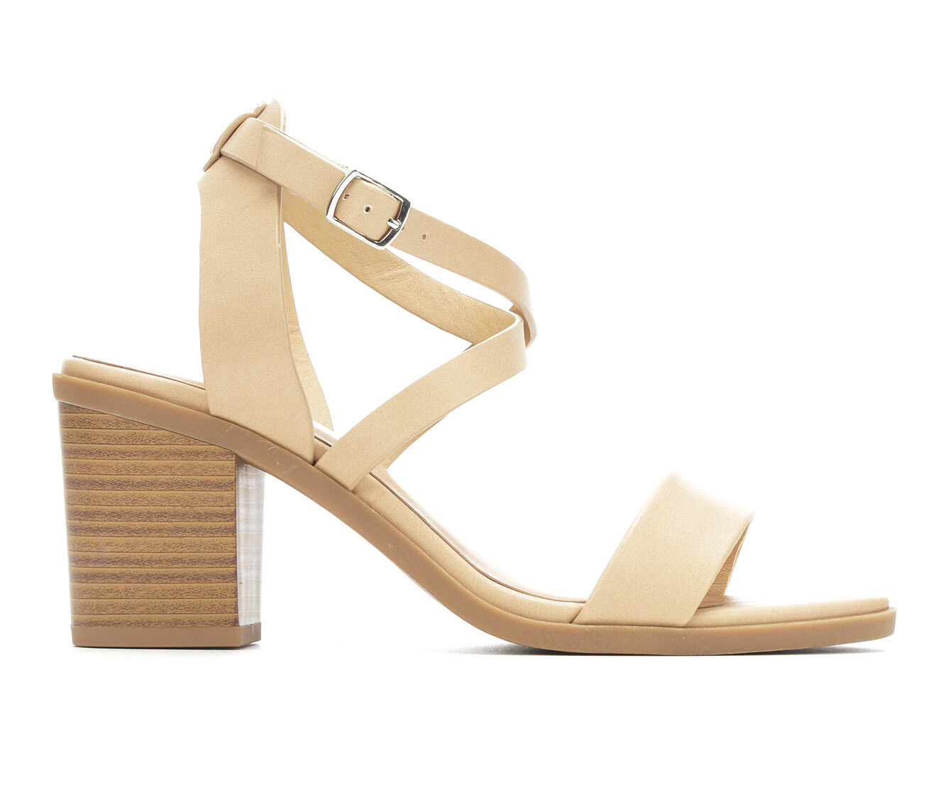 authentic shop Women's Soda Coupon Strappy Sandals Dk Nude
