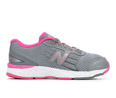 Girls' New Balance KR680SSY Wide 10.5-7 Running Shoes