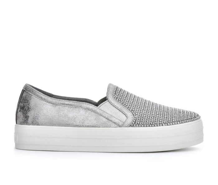 Women's Skecher Street Double Up Shiny Dancer 801 Slip-On Sneakers