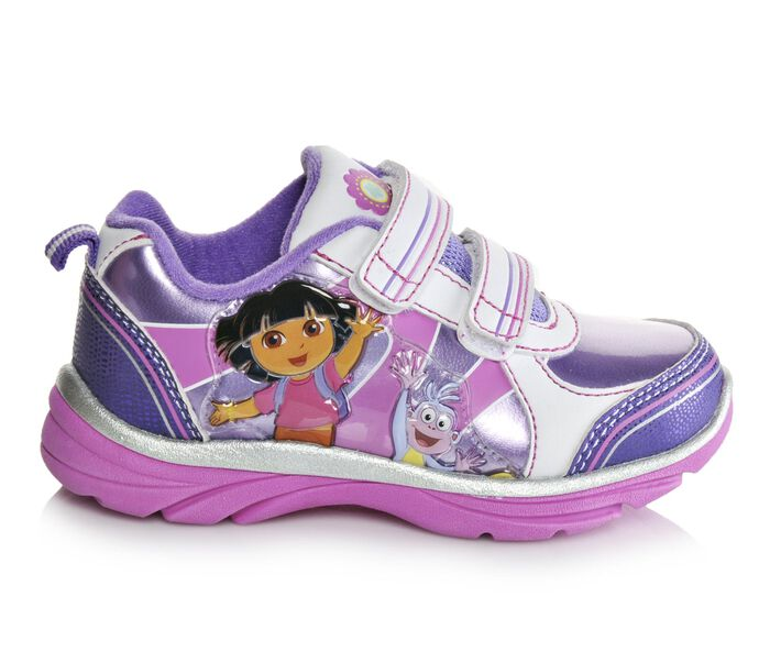 Girls' Nickelodeon Infant Dora & Boots 6-12 Light-Up Shoes
