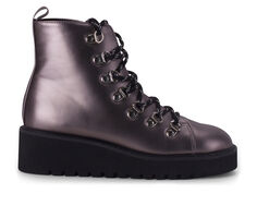 Women's Wanted Hunter Platform Lace-Up Booties