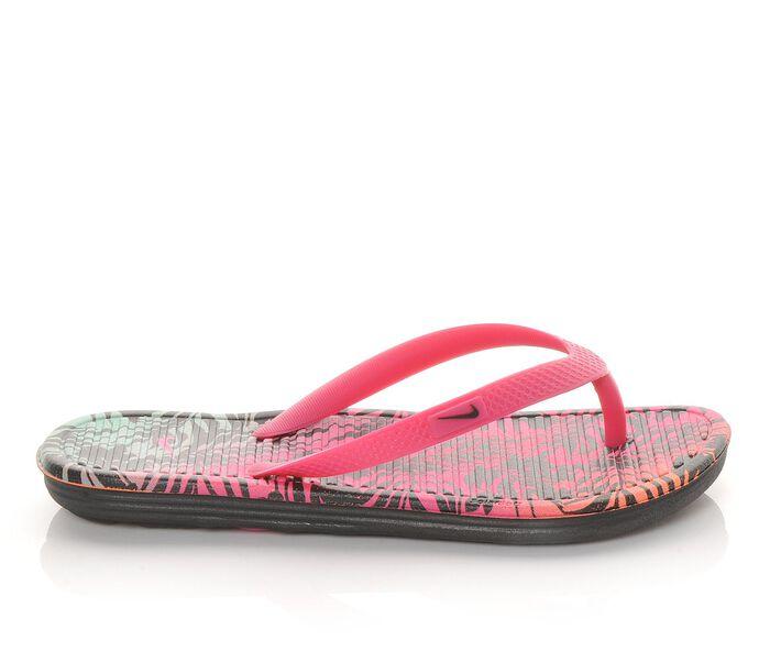 Girls' Nike Solarsoft Thong 2 Print 1-7 Flip-Flops