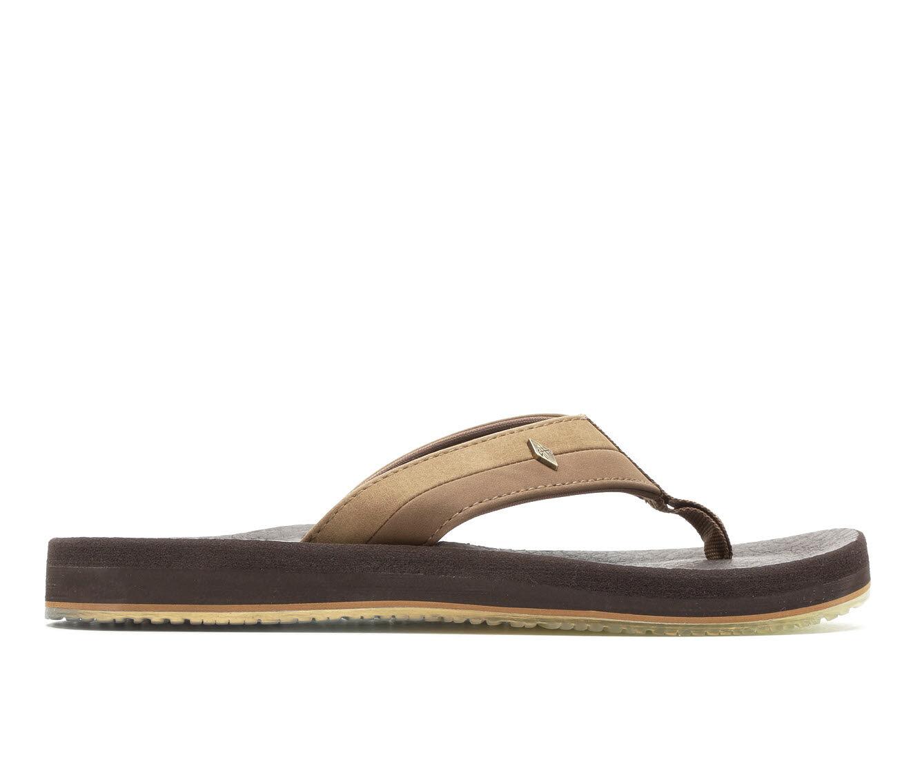 Women's Guy Harvey Castaway Marlin Sunset Sandals Light Brown