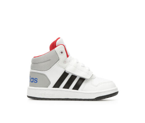 Boys' Adidas Infant Hoops Mid 2 High Top Basketball Shoes