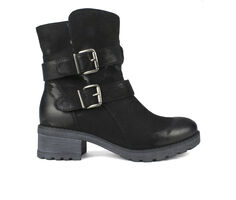 Women's White Mountain Chastity Moto Boots