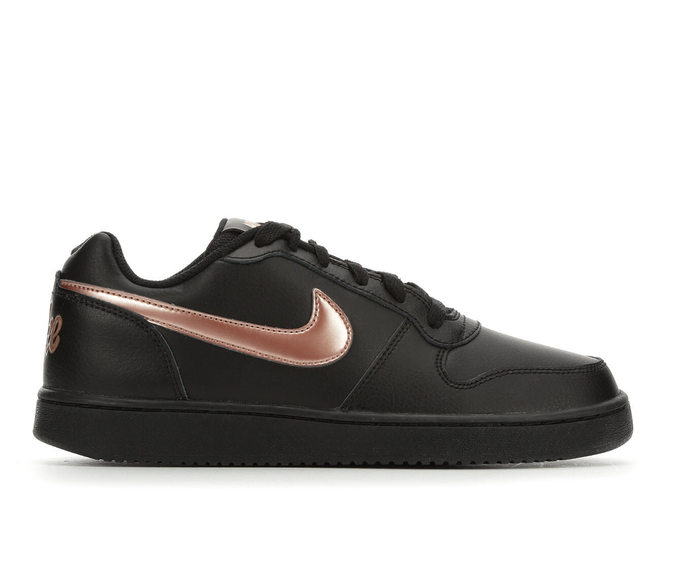 choose authentic new Women's Nike Ebernon Low Basketball Shoes Blk/Red Bronze