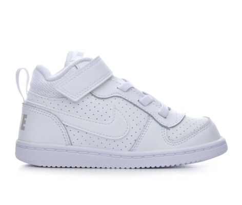 Boys' Nike Infant Court Borough Mid 2-10 Boys Basketball Sneakers