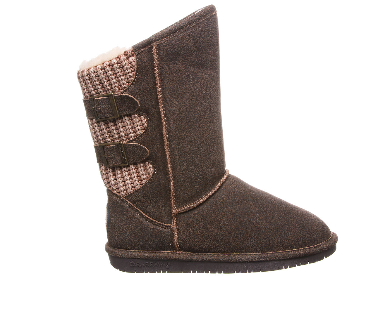 purchase comfortable Women's Bearpaw Boshie Wide Boots Chestnut