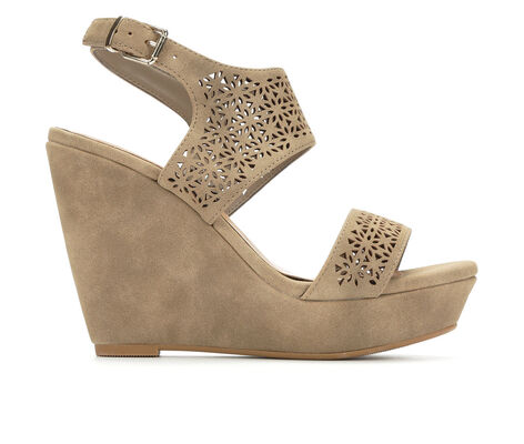 Women's Y-Not Kobo Ultra-High Platform Wedge Sandals