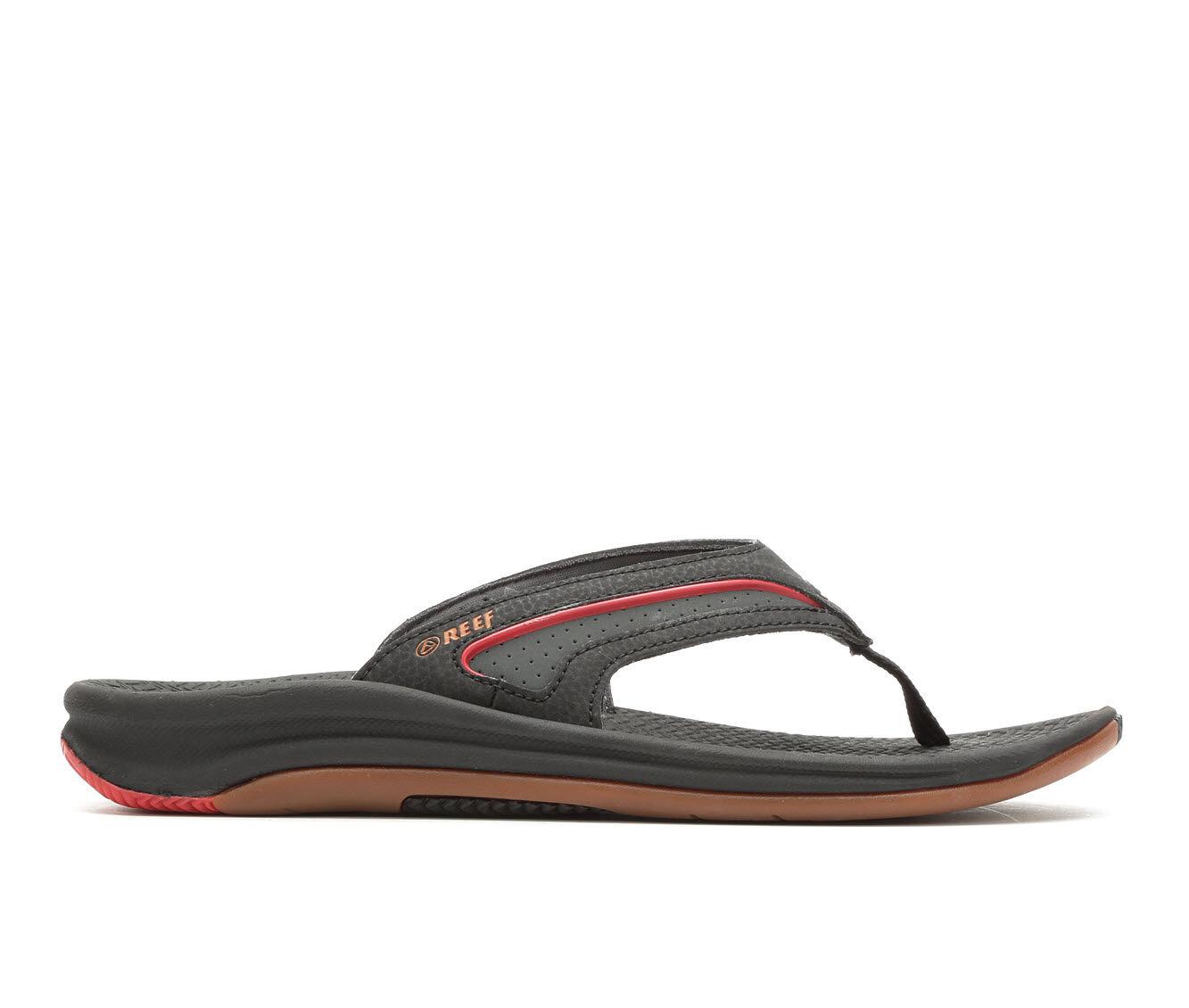 Men's Reef Flex Flip-Flops Black/Gum/Red