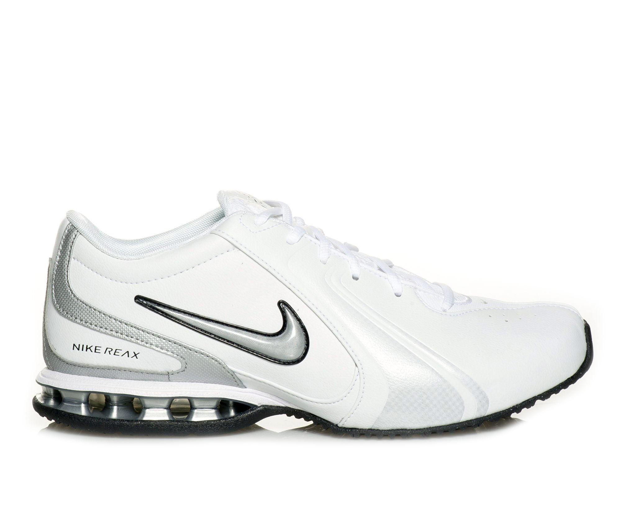 choose comfortable authentic Men's Nike Reax TR 3 SL Training Shoes White/Silver/Bk