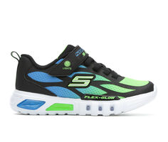 Boys' Skechers Little Kid Flex Glow Dezlom Light-Up Shoes