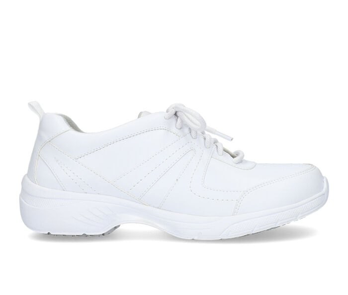 Women's Easy Works by Easy Street Paprika White Safety Shoes