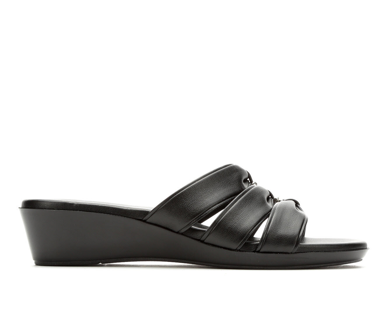 Women's Italian Shoemakers Bade Sandals Black