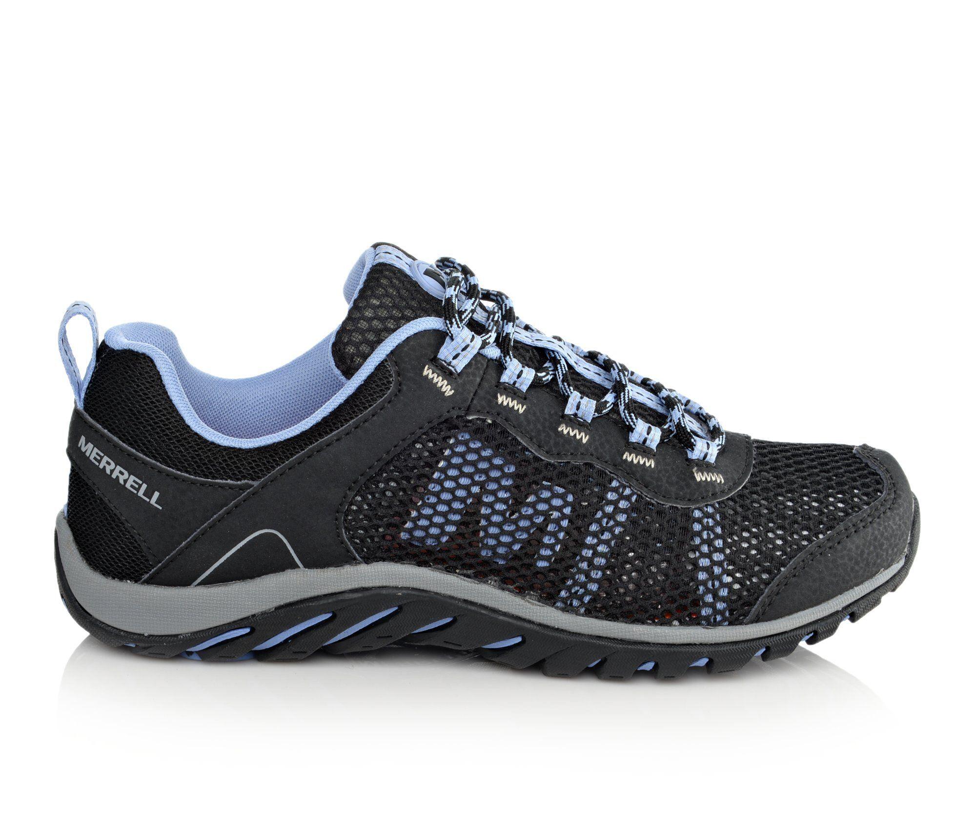 Women's Merrell Riverbed Hiking Shoes Black/Lavendar