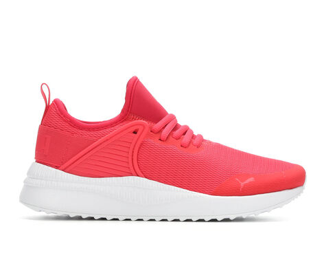 Girls' Puma Pacer Cage 4-7 Running Shoes