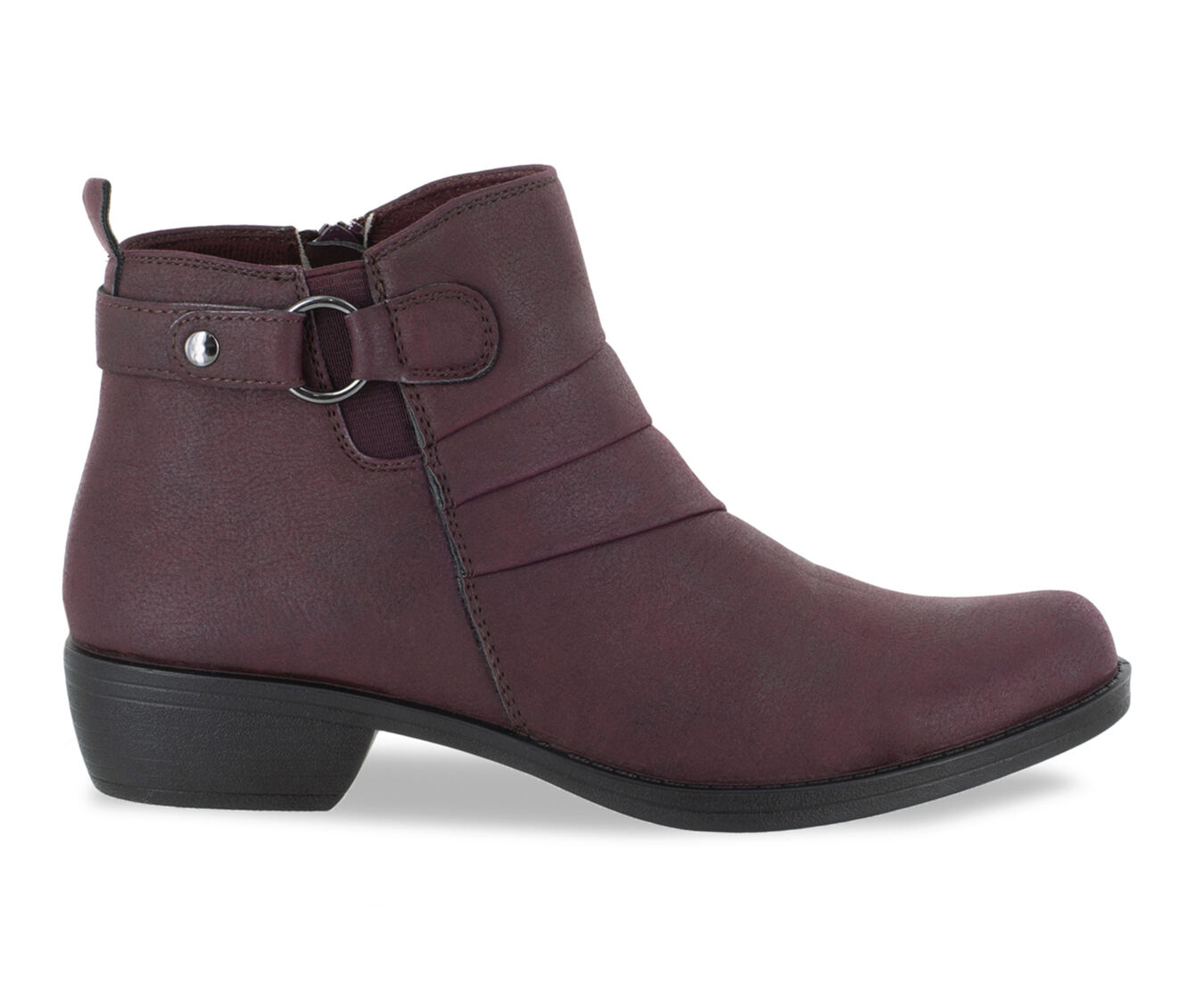 Women's Easy Street Shanna Booties Burgundy