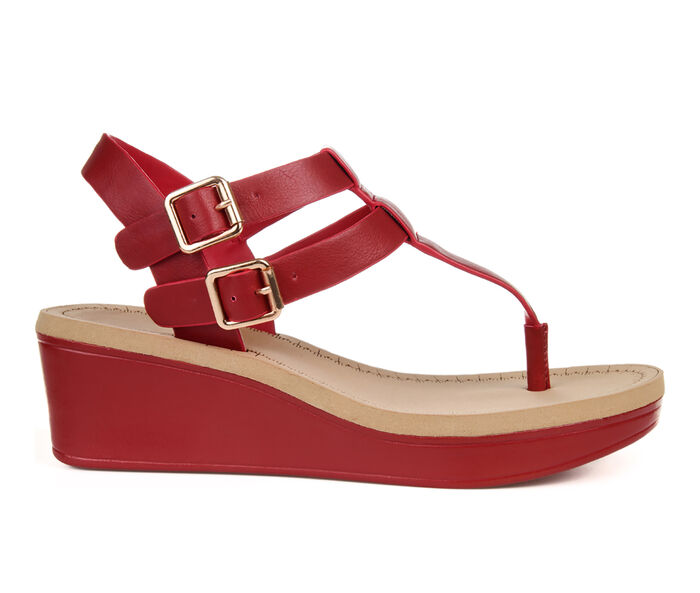 Women's Journee Collection Bianca Wedge Sandals