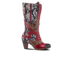 Women's L'Artiste Malagie-Velvet Knee High Boots