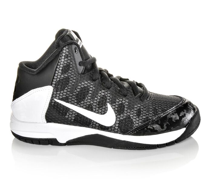 Boys' Nike Without A Doubt 10.5-3 Basketball Shoes