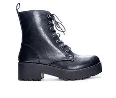 Women's Dirty Laundry Mazzy Platform Combat Boots