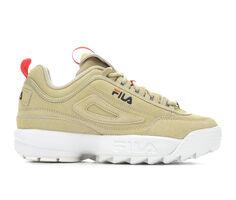 Women's Fila Disruptor II Premium Suede Sneakers