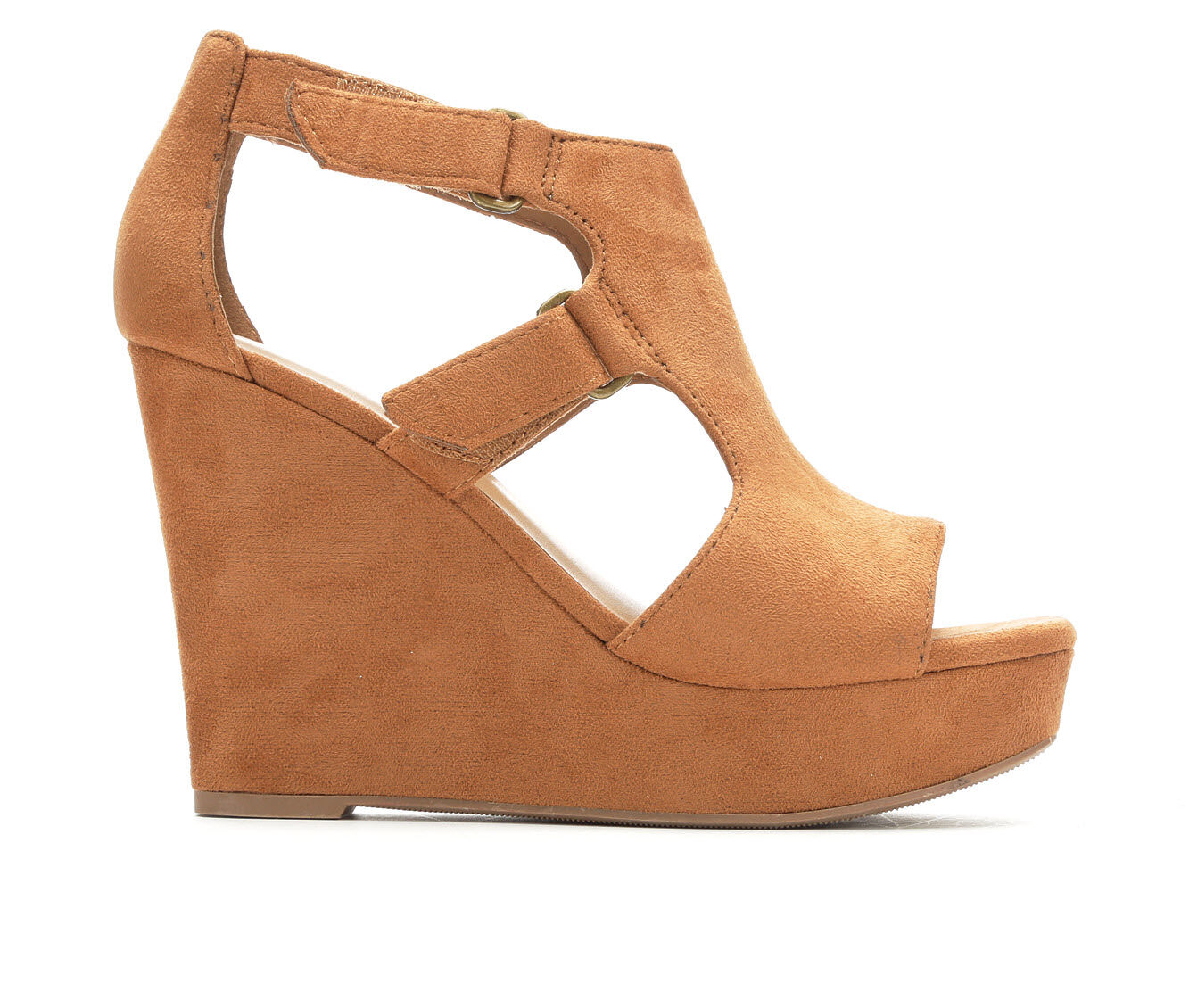 Women's Y-Not Hiking Wedges Soft Tan Micro