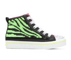 Girls' Skechers Little Kid & Big KId Twi-Lites Zebra 2.0 Twinkle Toes Flip Kicks