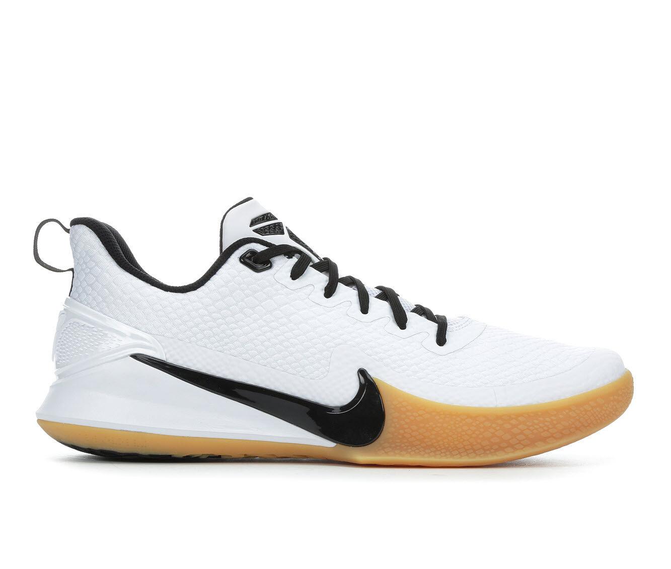 Men's Nike Mamba Rage Basketball Shoes Wht/Blk/Gum 100