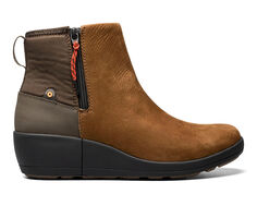 Women's Bogs Footwear Vista Rugged Zip-Up Rain Booties