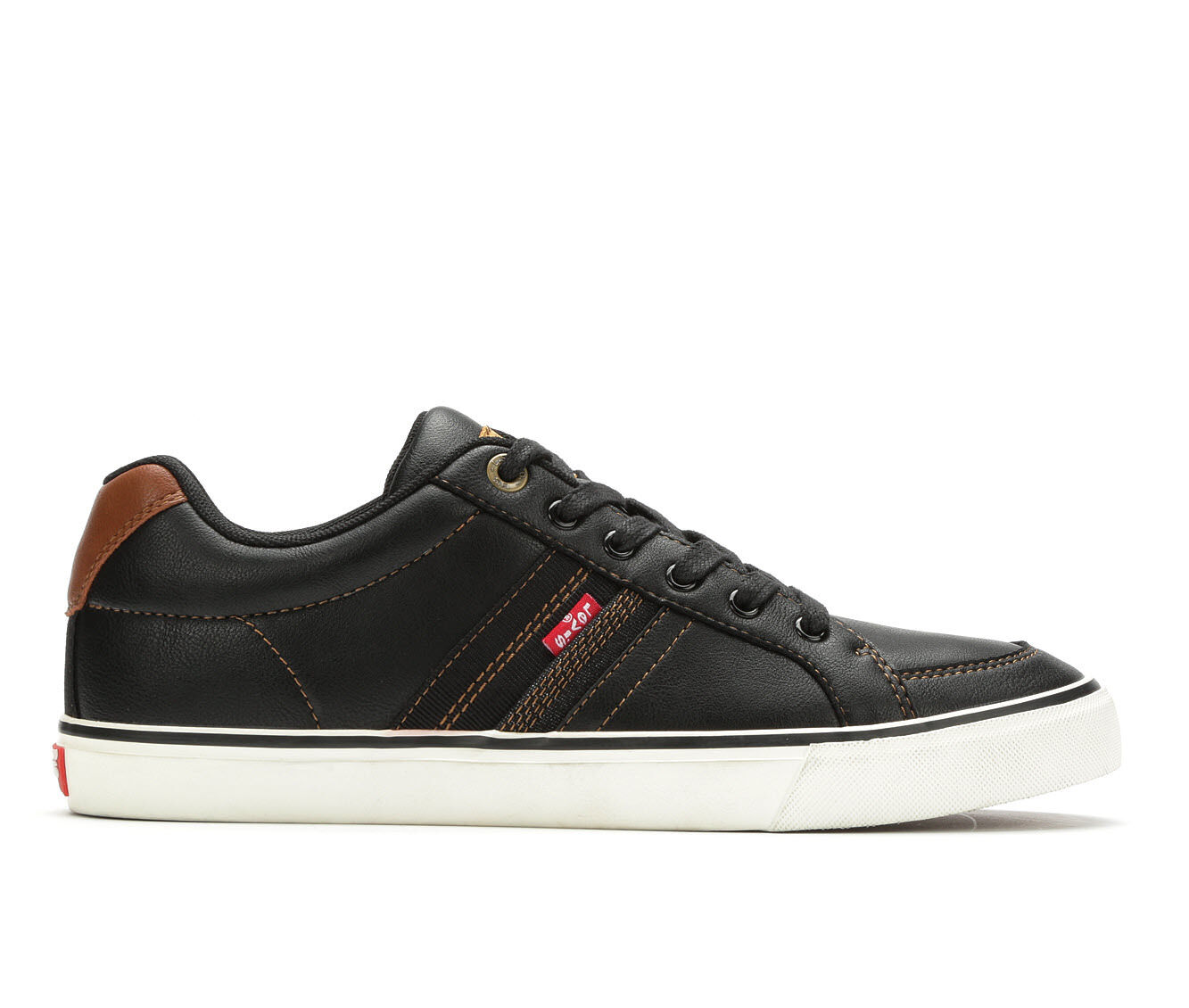 Men's Levis Turner Nappa Sneakers Black