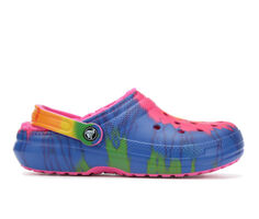 Adults' Crocs Classic Lined Tie Dye Clogs