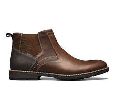 Men's Nunn Bush Fuse Plain Toe Chelsea Dress Shoes
